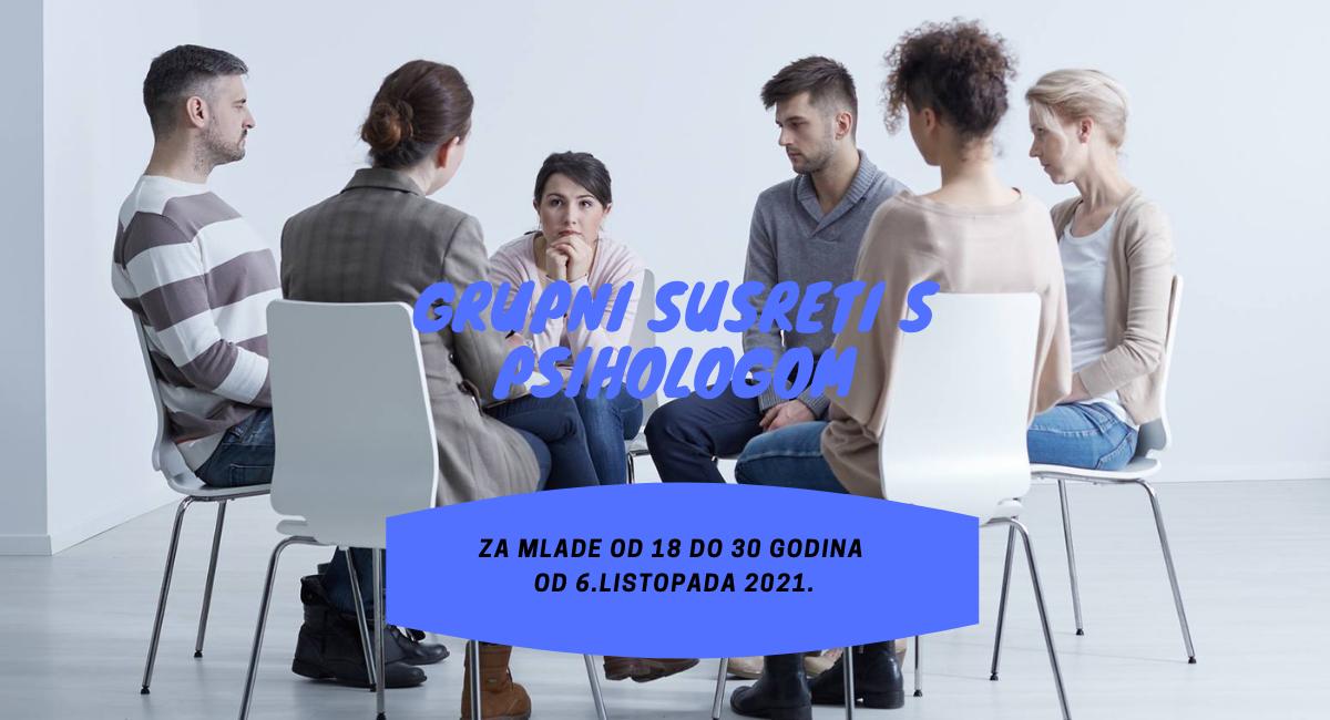 Grupni susreti sa psihologom