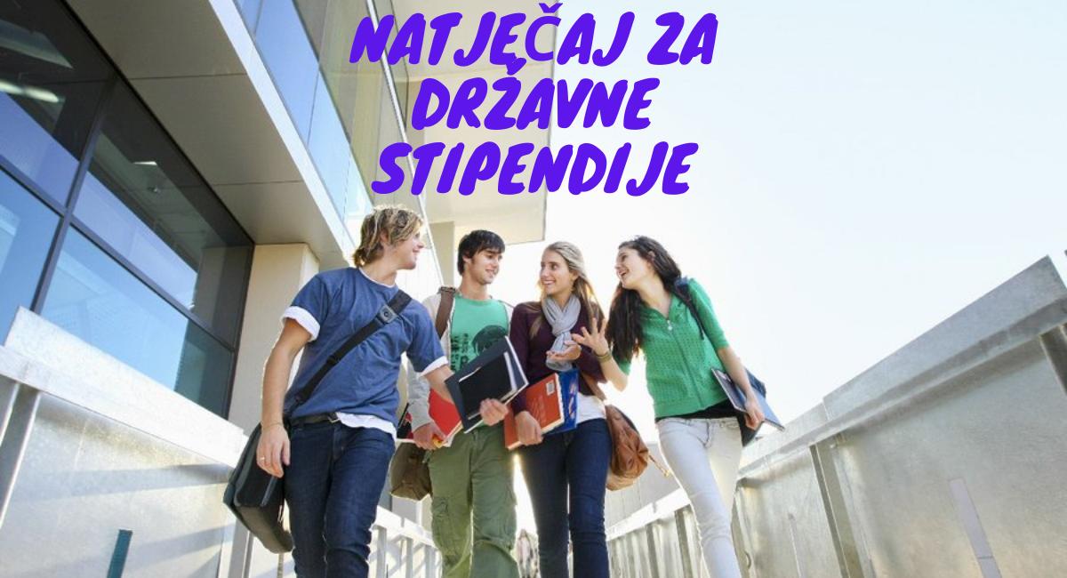 Natječaj za državne stipendije