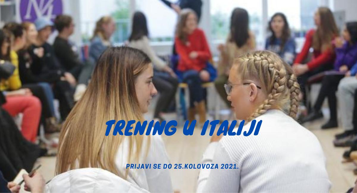 Otvorene su prijave za trening u Italiji!