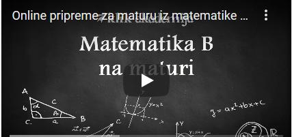 Besplatne online pripreme za državnu maturu iz matematike