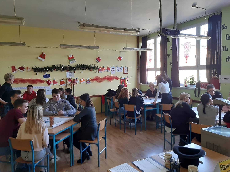 Vijećaonica u Srednjoj školi Valpovo