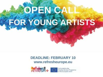 Otvoren poziv za mlade umjetnike u okviru EU projekta Refresh+