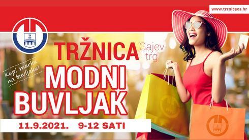 Modni buvljak u rujnu u Osijeku!
