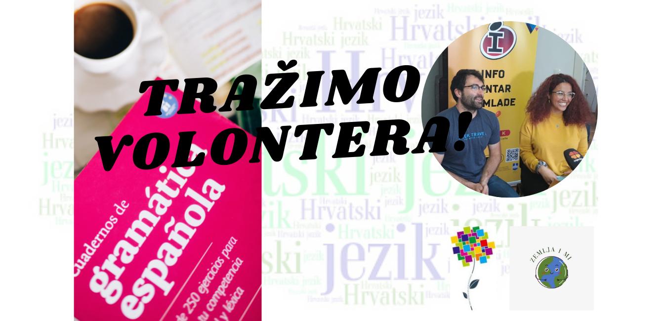 Tražimo volontera za podučavanje hrvatskog jezika!