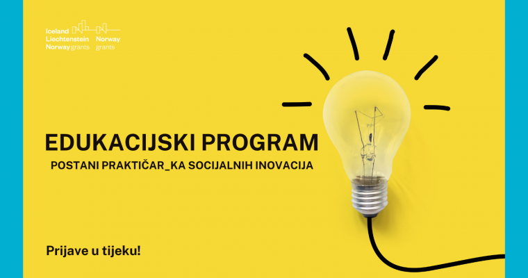 "Prijavi se na online edukacijski program ""Praktičar socijalnih inovacija"""