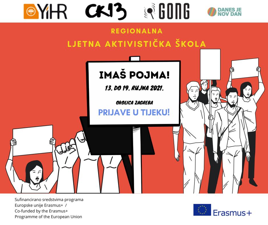 Prijavi se na aktivističku školu IMAŠ POJMA!