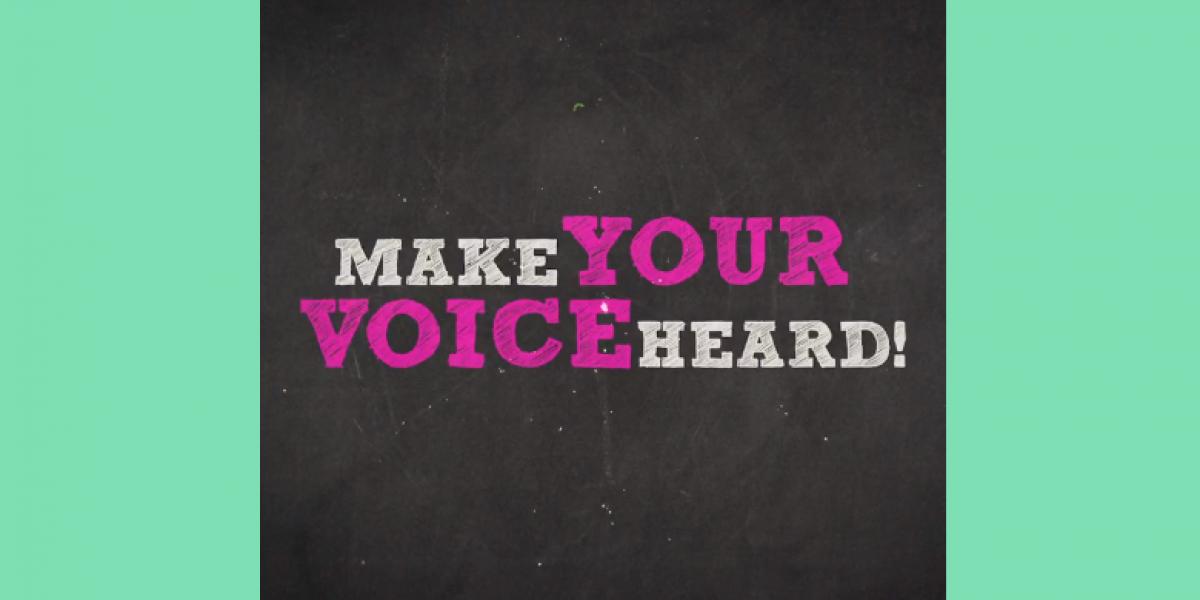 Neka se vaš glas čuje!