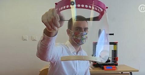 Studenti pomoću 3D printera vode borbu protiv koronavirusa